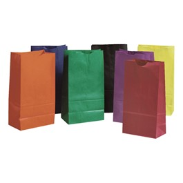 Rainbow Craft Bags - Assorted Bright Colors
