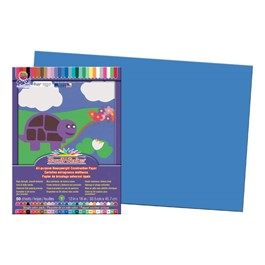 "SunWorks Construction Paper (12"" W x 18\"" L) - Blue"
