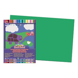 "SunWorks Construction Paper (12\"" W x 18\"" L) - Green"