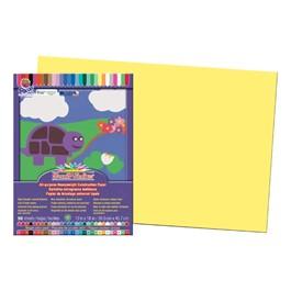 "SunWorks Construction Paper (12\"" W x 18\"" L) - Yellow"