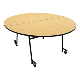 22M Series Round Mobile Folding Cafeteria Table