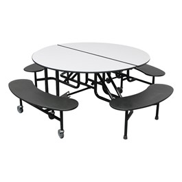 59T Series Round Bench Cafeteria Table