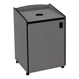 Top Load Recycling Unit w/ Liner - Gray