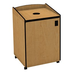 Top Load Recycling Unit w/ Liner - Maple