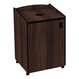 Top Load Recycling Unit w/ Liner - Walnut