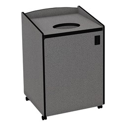 Top Load Waste Unit w/ Liner - Gray