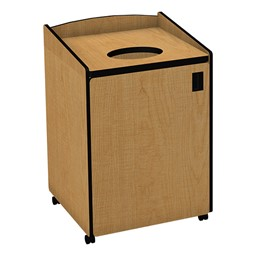 Top Load Waste Unit w/ Liner - Maple