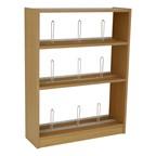 Single-Sided Picture School Bookshelves – Starter Unit w/ Wood Shelves