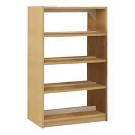 Double-Sided Wood Shelving – Starter Unit