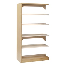Double-Sided Steel Shelving – Adder Unit