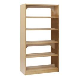 Double-Sided Wood Shelving – Starter Unit