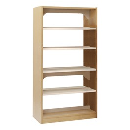 Double-Sided Steel Shelving – Starter Unit
