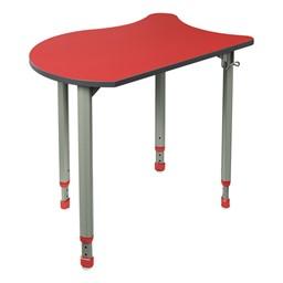 A&D Koi Adjustable-Height Student Desk