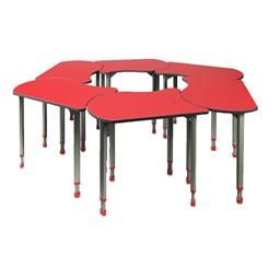 A&D Koi Adjustable-Height Student Desks