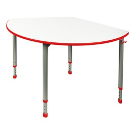 A&D Wedge Adjustable-Height Student Desk