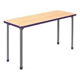 A&D Rectangle Adjustable-Height Student Desk