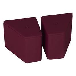 Mini Blender Soft Seating - Pack of Two - Sorbet