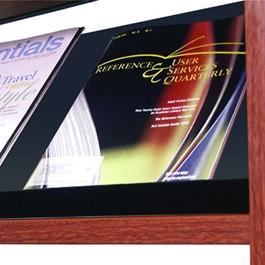 Steel Magazine Shelf w/ Retaining Lip