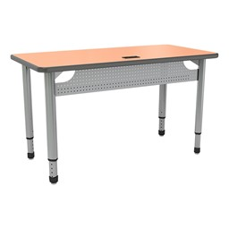 """Paragon Train-IT Computer Training Table, Front - 60"""" L"""