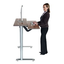 Vox Adjustable Dual Surface Workstation - Standing Position