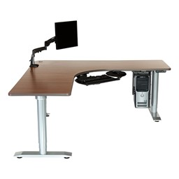 Vox Adjustable Perfect Corner Workstation - Computer Accessories Not Included