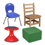 Preschool Chairs & Seating