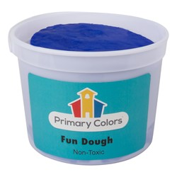 Fun Dough - Assorted Colors Set of Six (3 lbs.) - Blue
