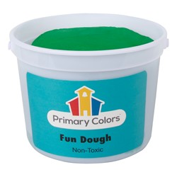 Fun Dough - Assorted Colors Set of Six (3 lbs.) - Green