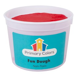 Fun Dough - Assorted Colors Set of Six (3 lbs.) - Red