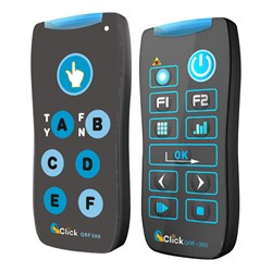 QClick QRF300 Classroom Response System - Teacher and Student Response Remotes