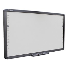 """Infrared Interactive Whiteboard w/ Dry Erase Porcelain Steel Surface - 98\"""" Active Area Size"""
