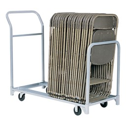 Folding & Stacked Chair Cart