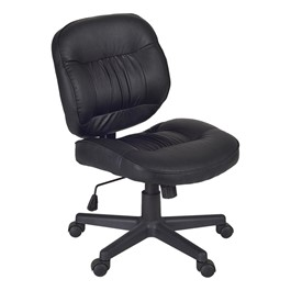 Cirrus Vinyl Office Chair - Black