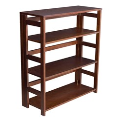 Flip Foldable Bookcase - Mocha