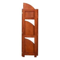 Flip Foldable Corner Bookcase - Folded