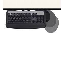 Articulating Keyboard Tray - Right - Mouse pad rotation