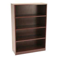 Legacy Series Bookcase – Four Shelves - Shown in mahogany