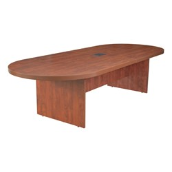 Legacy Series Racetrack Conference Table w/ Power - Shown in cherry