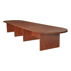 Legacy Series Expandable Conference Table W Power W X L - Expandable conference room table
