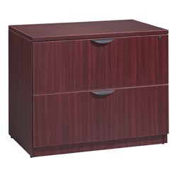 Legacy Series Lateral File - Shown in mahogany