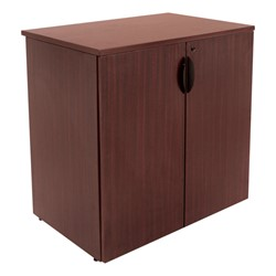 Legacy Series Stackable Storage Cabinet<br>Shown in mahogany