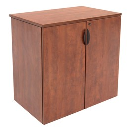Legacy Series Stackable Storage Cabinet<br>Shown in cherry