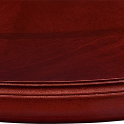 Traditional Round Conference Table - Edge detail
