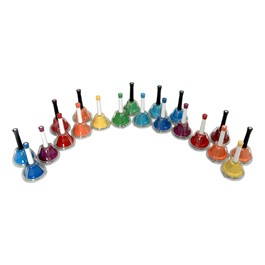 KidsPlay Combined 20-Note Handbell/Deskbell Set