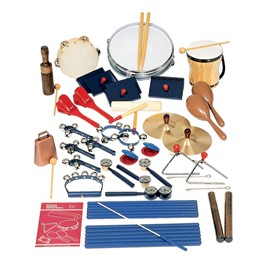 Economy Elementary Band Set w/ Rhythm & Percussion Instruments