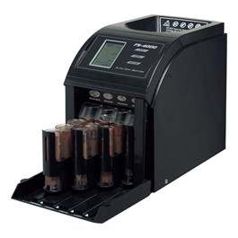 4-Row Coin Sorter - 800 Coin Capacity