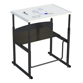 "AlphaBetter Stand-Up Desk w/ Whiteboard Top (28"" W x 20\"" D)"