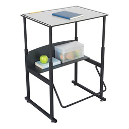 "AlphaBetter Stand-Up Desk w/ Phenolic Top (28"" W x 20"" D)"
