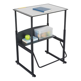 "AlphaBetter Stand-Up Desk w/ Phenolic Top (28\"" W x 20\"" D)"