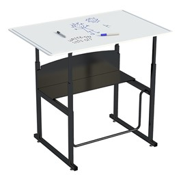 "AlphaBetter Stand-Up Desk w/ Whiteboard Top (36"" W x 24\"" D)"